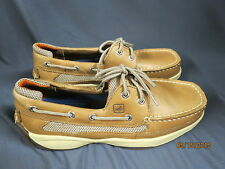 SPERRY TOP-SIDER LANYARD 2-EYED BOAT SHOES! #0777924 MEN S