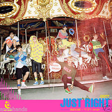 GOT7 - Just Right (3rd Mini Album) CD +84p Photobook+Photo+Photocard+Poster+gift