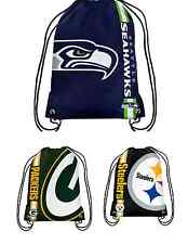 NFL Football Team Logo 2015 Drawstring Backpack - Pick Your Team!
