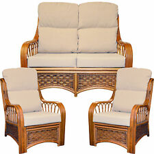 NEW SUITE CUSHIONS / COVERS CANE CONSERVATORY WICKER RATTAN FURNITURE GILDA