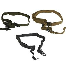 Tactical Army Military Hunting 3 Point Rifle Sling Bungee Shotgun Gun Strap Cord