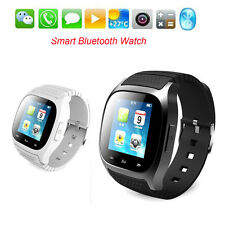 Bluetooth Smart Watch Wrist for Apple iPhone 5/6 Samsung S5 Note 3 HTC Android