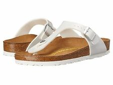 BIRKENSTOCK GIZEH SANDAL THONG PEARLY WHITE ALL SIZES 37 38 39 40 REGULAR WIDTH