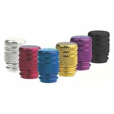 Oxford Lightweight CNC Machined Anodised Alloy Bike Valve Caps-Internal 'O' Ring