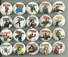 Marvel Comics 1.5 Inch Pins Buttons Badges PICK YOUR OWN Spiderman Hulk Iron Man