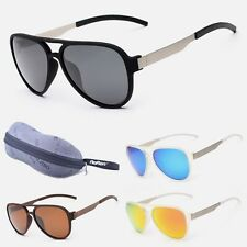 NEW Mens Vintage Mirrored Polarized Driving Glasses Sunglasses Eyewear Goggles