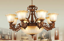 NEW Vintage Glass Ceiling Light Pendant Lamp Flower Lighting Chandelier