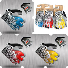 New Cycling Half Finger Road Bike Bicycle Gloves Antiskid Silicone Granules Palm