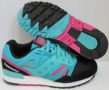 SAUCONY GRID SD GAME PACK 7.5 TEAL PINK SOUTH BEACH soho shadow 6000 burger 5000