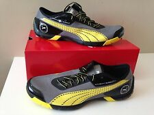 NIB PUMA  Future Cat SuperLT NC Men's Shoes  304428 15 Steel Gray-Yellow-Black