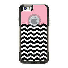 OtterBox Commuter for iPhone 5S SE 6 6S 7 Plus Black White Pink Chevron