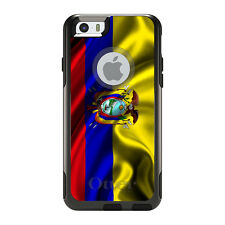 OtterBox Commuter for iPhone 5S SE 6 6S 7 Plus Ecuador Waving Flag