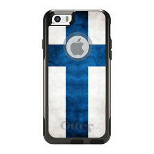 OtterBox Commuter for iPhone 5S SE 6 6S 7 Plus Finland Old Flag