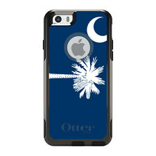 OtterBox Commuter for iPhone 5S SE 6 6S 7 Plus South Carolina State Flag