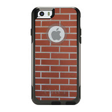 OtterBox Commuter for iPhone 5 5S SE 6 6S Plus New Red Brick Wall