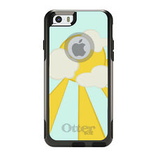 OtterBox Commuter for iPhone 5 5S SE 6 6S Plus Blue Yellow Sun Sky Clouds