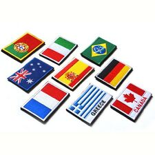 Hot Sale Choice Nation Flag Emblem  Patch Embroidered Country Sew Trim  Patch