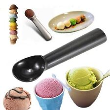 Professional Non-Stick Anti Freeze Ice Cream Scoop Sorbet Gelato Metal Spoon B/S