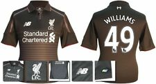*15 / 16 - NEW BALANCE ; LIVERPOOL 3rd KIT SHIRT SS / WILLIAMS 49 = SIZE*