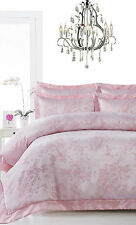400TC NANJING Pink Oriental Chic Jacquard Quilt Doona Cover Set - QUEEN KING