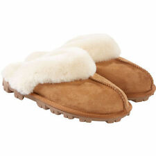 Kirkland Signature™ Ladies' Shearling Slippers - CHESTNUT (Select Size)