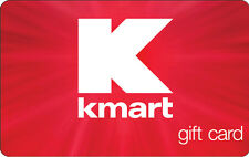 $10 / $25 KMART Gift Card
