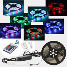 5M SMD 5050/3528 Waterproof 300 Flash LED Flexible Ribbon Lighting Strip 12V 60W