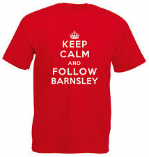 Keep Calm Football T-Shirt - Barnsley