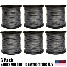 5lb Roll 095 Round Reinforced Trimmer Line Fits Echo Stihl Redmax 6pk