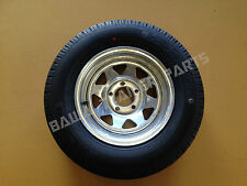 "GALVANISED 14"" FORD RIM WITH 185 LT TYRE ! Trailer Parts"