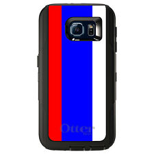 CUSTOM OtterBox Defender Case for Galaxy S5 S6 S7 Russia Russian Flag