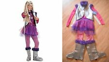 Disney Hannah Montana Costume NWT Concert Dress Purple Rock Star Glamour Outfit
