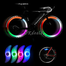 Multi-Color Bike Bicycle Cycling Wheel Tire Tyre LED Spoke Safety Light Lamp BC