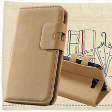Soft Leather Case For Samsung Galaxy Note II 2 N7100 New Flip Wallet Cover Skin