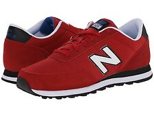 NEW BALANCE ML501MOA ML501 Mn's (M) Red/Blk/Wht Suede/Mesh Casual Shoes