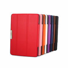 """PU Leather Folio Slim Fit Case For Amazon Kindle Fire HD 7"""" Tablet 2014"""