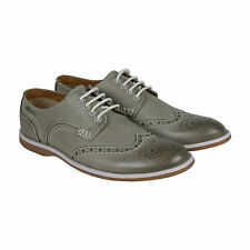 Clarks Farli Limit Mens Grey Nubuck Casual Dress Oxfords Shoes