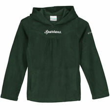 Michigan State Spartans Columbia Girls Youth Glacial Hoodie - Green - College