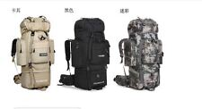 Hiking Rucksack Military Army Tactical Travel Backpacking Bag Back Pack Camo Pro
