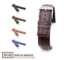 BOB Genuine Shark Watch Band/Strap for IWC, 20, 21 & 22 mm, 4 colors, new!