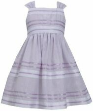 BONNIE JEAN® Girls' 4-6 Lavender Striped Pencil Dress *NWT $62