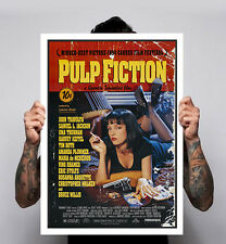 Pulp Fiction Quentin Tarantino John Minimal Movie Poster Print 180gm A1-3