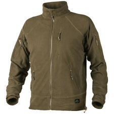 Helikon Alpha Tactical Urban Patrol Hiking Mens Combat Jacket Grid Fleece Coyote