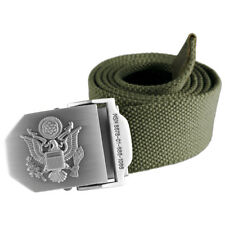 Helikon Military Style Combat Army Mens Uniform Belt Cotton Canvas Olive Green