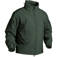 Helikon Gunfighter Combat Windblocker Mens Soft Shell Hooded Jacket Jungle Green