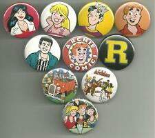 Archie Comics 1.5 inch Pins Buttons Magnets