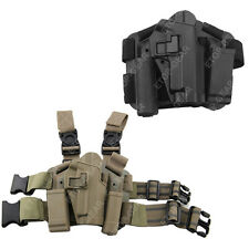 Tactical Right Leg Thigh Holster w/Magazine Torch Pouch SIG SAUER P226 P228 P229