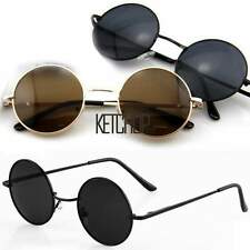 New Men Women Round Metal Frame Sunglasses Glasses Eyewear Vintage Retro KECP