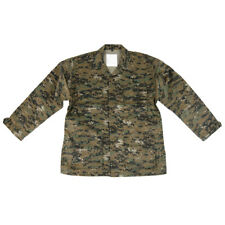 Military Tactical US BDU Army Mens Shirt USMC Marpat Digital Woodland Camo S-XXL