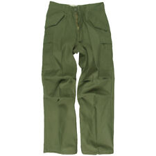 Tactical Army Combat Cargo M65 Trousers Mens Uniform Work Pants Airsoft Olive OD